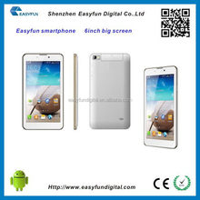 Customized professional 5inch screen cell phone
