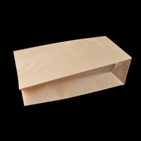 Plain cheap brown greaseproof vintage kraft paper bag