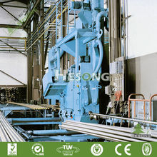 Wire Rod Jet Machine For Blasting Grit / Wire Rod Cleaning Machine