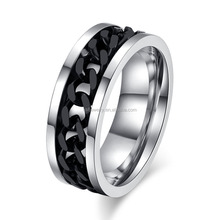 Latest 316L Man Stainless Steel Chain Ring Center Ring Wholesale