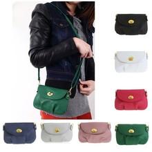 PU leather Korean Style Solid Promotion Elegant Woman Bags Crossbody Handbag Women Shoulder Messenger Bag