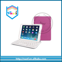 Removable bluetooth keyboard case cover for ipad mini