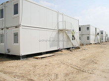 guangzhou low cost well design steel structure modern prefab home