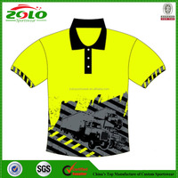 2015 Fashion Sublimation Men Polo Shirt, Cheap Sport Polo Shirt, Comfortable Pique Quick Dry Polo Shirt For Men