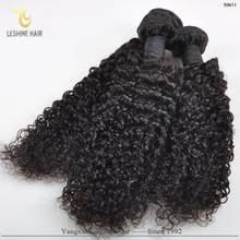 China Wholesale Factory Price Top Quality Unprocessed Curly Hair And Supreme Remy Hair Weave