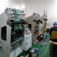 aluminum foil lids punching machine with embossing