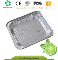 Eco-friendly Recyled Cheap On Line Shopping Disposable Aluminum Foil Takeaway Food Container
