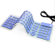 New Arrival Wired Silicone Keyboard soft folded computer keyboard, hot new products for 2015