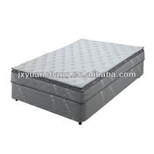 Cheap hotel pillow top pocket spring not used bed mattress