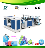 Heavy duty folded garbage bag making machine price mini plastic machinery