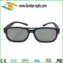 linear polarized 3d glasses plastic for 3d cinema