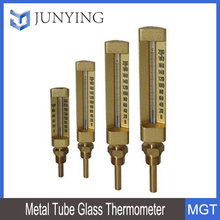 Metal Tube Glass Thermometer