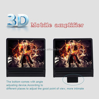Mobile Phone Screen Amplifier, Portable 3D Enlarged Screen Bracket Stand for Smartphone