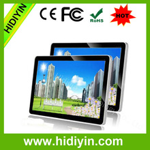 "27"" wall mounted bus stop/station indoor digital signage,excellent lcd advertising monitor"