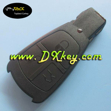 Old model 3 buttons car remote shell for mercedes key case without logo mercedes key