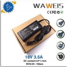 AC adapter connector 18.5V 3.5A 65w for HP COMPAQ 610 615 Laptop