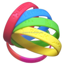 Personalized silicone hand band