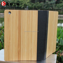 Fast shipping high quality colorful wood case for ipad 4 3 2