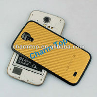 Carbon Fiber Hard Case Cover For Samsung Galaxy S4 i9500