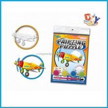Children oil painting 3D puzzle/gadget toy