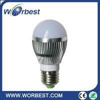 Hot sale long lifespan ,smd led bulb e27 3w interior decoration,smd led bulb e27 3w high lumens 310lm ac85-265v