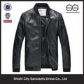 Venta al por mayor lava Geniune hombres chaqueta de cuero, motocicleta chaqueta de cuero, chaquetas de cuero para hombre