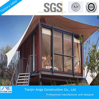 2015 new products prefab house tent, house shaped tent