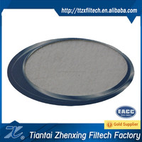 water and oil repellent polyester needle punched felt filter cloth filter material
