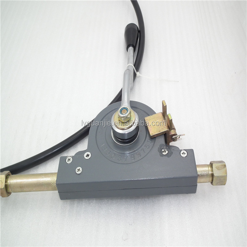 Universal Hydraulic Control Lever Cable : Gj mechanical push pull control joystick buy