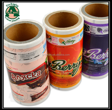 BOPP/CPP laminated popsicle,chocolate,biscuit,cookie packaging film for horizontal machine