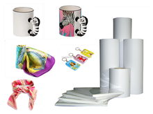 Factory sell A4/A3/A3+ 100sheets 80gsm 100gsm Inkjet Sublimation paper/heat transfer paper for textile/creamic mugs/metal