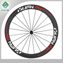 Novatec wheels clincher carbon wheel speed 50mm deep carbon aero spokes wheel