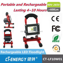 Hot Item rechargeable type led 10w flood light / Portable 10w led flood light/ 10w flood light