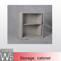 Half height small steel roller shutter door storage cabinet