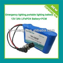 Best quality power tool lithium battery 12V 3AH+PCM protection China Manufacturer