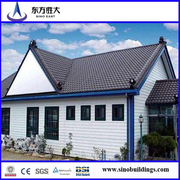 Casa prefabricada deestructura de acero ligero chalet de 2 - Casa prefabricada acero ...