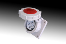 TIBOX High quality electrical wire with switch and plug 400v industrial plug and socket