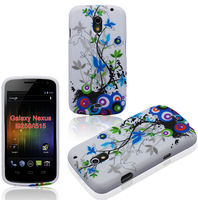 Mobile Phone Cover For Samsung Galaxy Nexus i9250 Crystal TPU Gel Case
