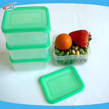 High Quality Square Plastic Lunch Box with Lid