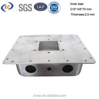 Custom stainless steel stamping parts metal enclosures for electronics