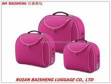 BS601shangdong silk polyester beauty cases/makeup bags/cosmetics bag