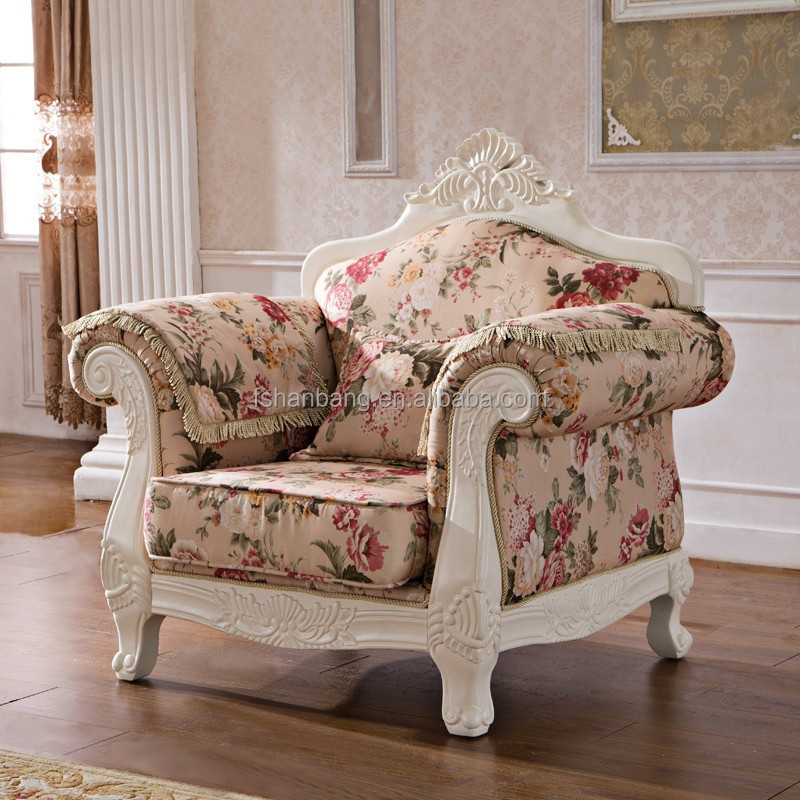 Royal French Provincial Fabric Upholstered Wooden Living Room Sofa Furniture Set Buy Living