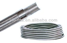 corrugated stainless steel coil pipe, water connector, solar line set tube