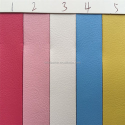 Hot sale light color microfiber leather for bags DG0325