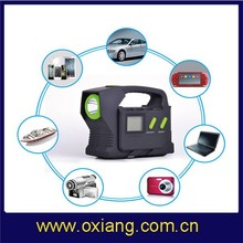 New design 23100mAh mini emergency car portable battery jump starter OX-T8 for car/phone/camera/GPS/ laptop