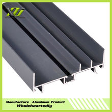 Durable aluminum profile for door and window frame furniture