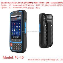 "PL40 AH017 4"" MT6572 Rugged GPS 3G ip65 waterproof android mobile phone"