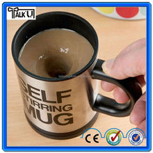 new Automatic Electric self stirring coffee mug with stainless steel and Eco-Friendly Plastic