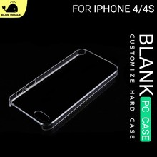 Ultra Thin Case For IPhone 4 4S, For Clear Hard Phone Case IPhone4, For IPhone4 Cover Mobile Phone