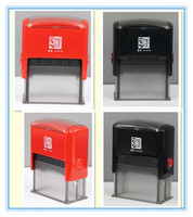 Office Date Stamp, Custom Rubber pre-inking Stamp, self-inking stamp